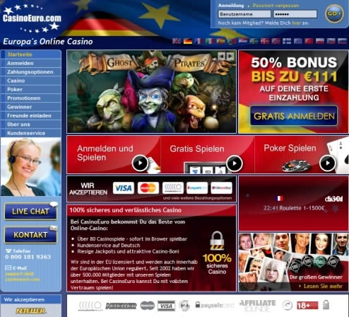 Www Casinoeuro Com