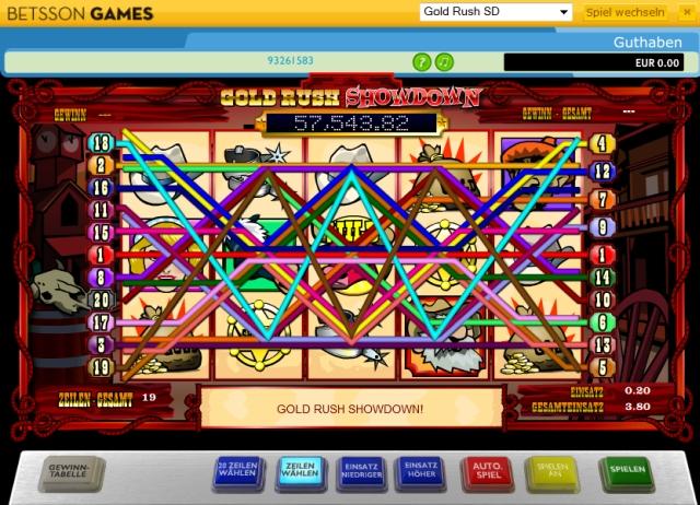 gold rush online spielen